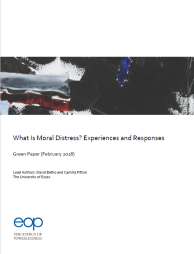 GREEN PAPER – What is Moral Distress? Experiences and Responses