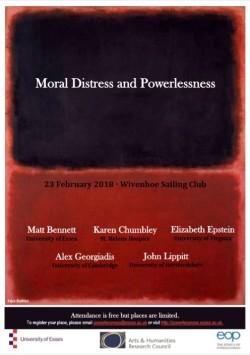 Moral Distress poster